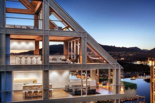 Terrace House, la torre de madera híbrida más alta del mundo